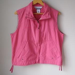 Columbia Vest Pink XL